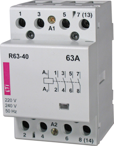 Modular Contactors for instalation into distribution boards